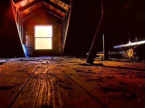 scary attic 1